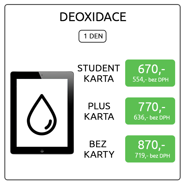 iPad 4 - deoxidace