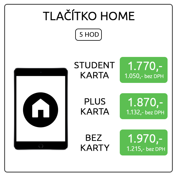 iPad mini 4 - tlačítko home-Recovered