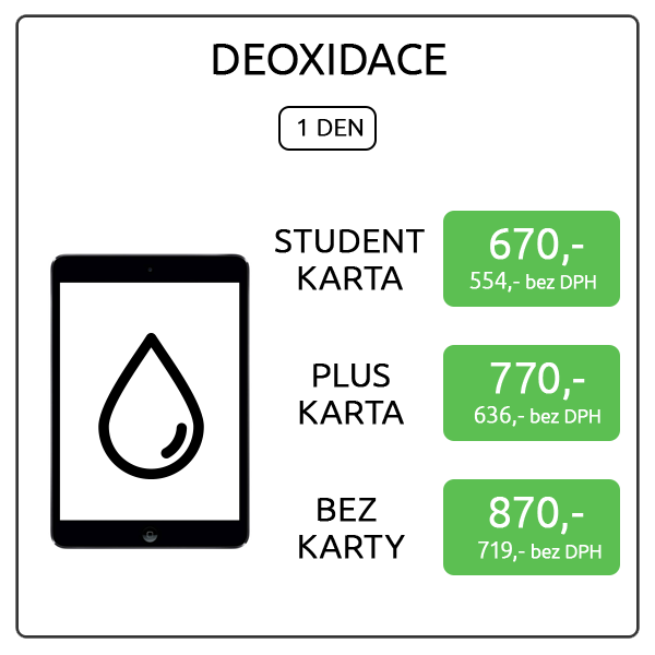 iPad mini - Deoxidace