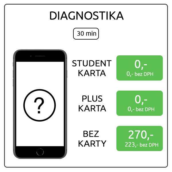iPhone 8 Plus - Diagnostika
